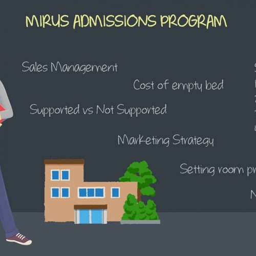 The role of admissions continues to grow in importance.