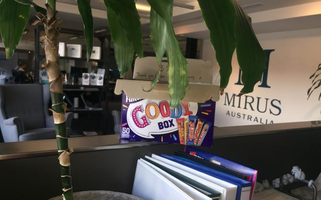 Chocolate tales of the Mirus team