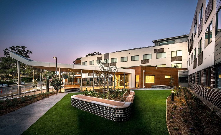Architecture in an aged care setting