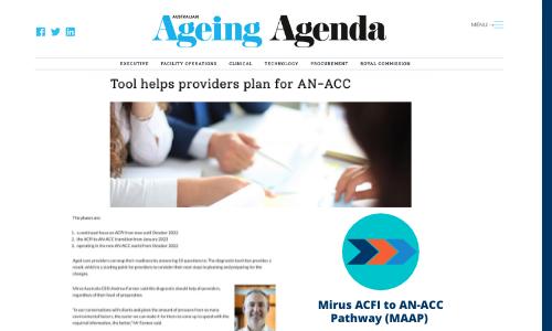 Ageing Agenda Mirus MAAP